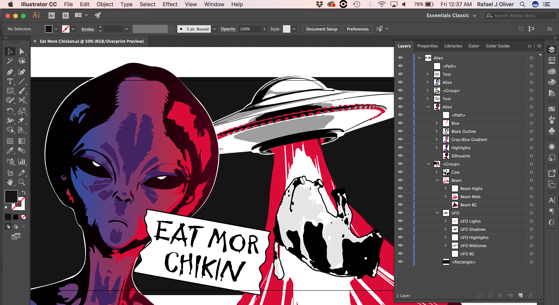 eat mor chicken